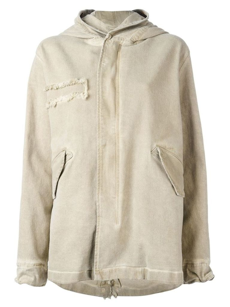 Mr & Mrs Italy classic mid parka - Neutrals
