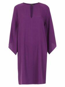 Tufi Duek straight fit dress - Purple