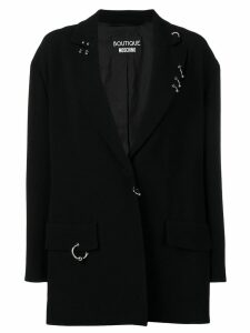 Boutique Moschino embellished blazer - Black