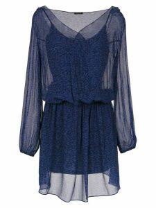 Tufi Duek tulle dress - Blue