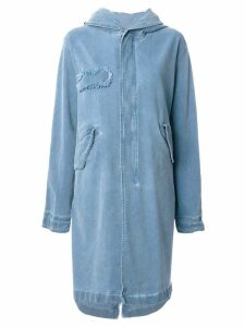 Mr & Mrs Italy denim parka - Blue