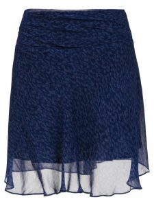Tufi Duek printed a-line skirt - Blue