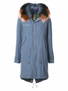 Mr & Mrs Italy lining parka - Blue