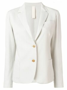 Eleventy classic fitted blazer - Neutrals
