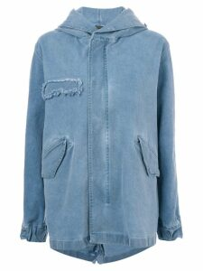 Mr & Mrs Italy denim parka coat - Blue
