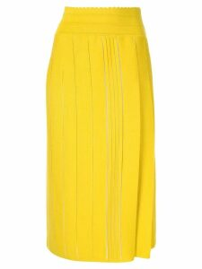 Molli Jill pleated skirt - Yellow