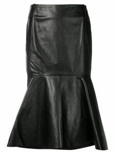 Balenciaga Godet skirt - Black