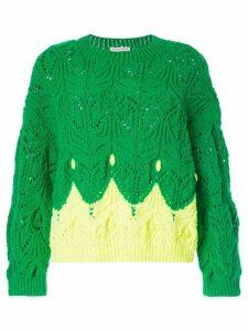 Vika Gazinskaya knit jumper - Green