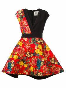 Fausto Puglisi floral print dress - Black