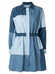 Dolce & Gabbana patchwork denim dress - Blue