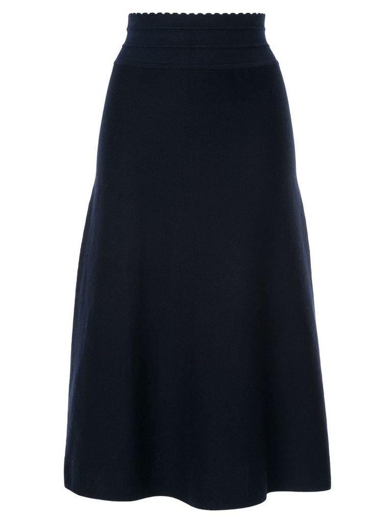 Molli high waist midi skirt - Blue