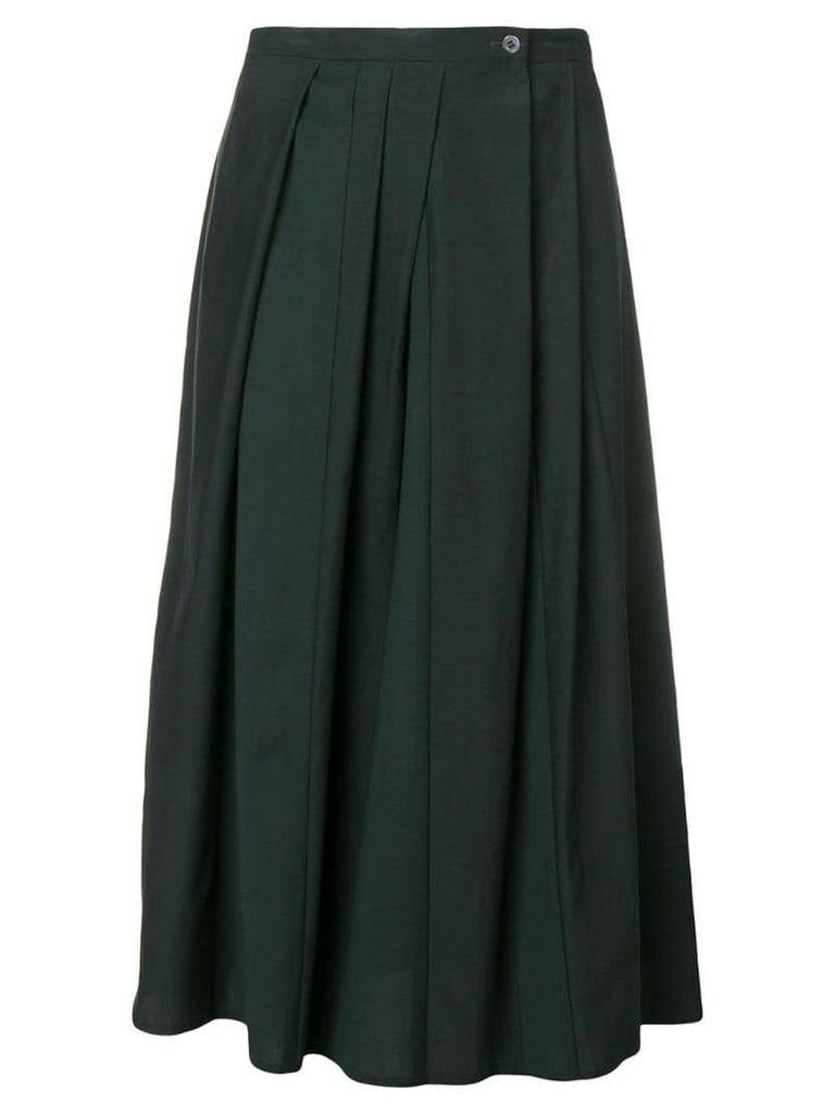 Stephan Schneider magical pleated skirt - Green