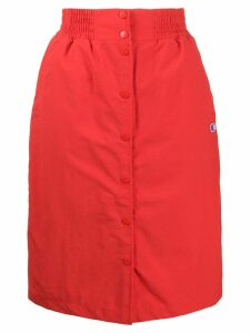Champion straight fit skirt - Red