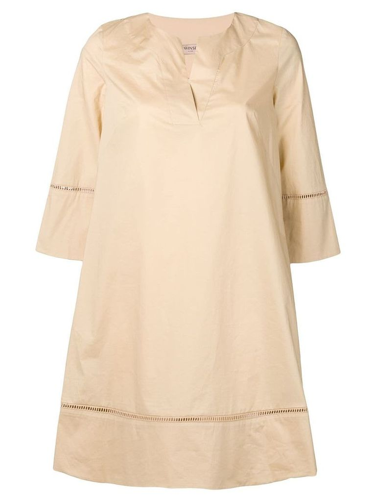 Twin-Set tunic dress - Neutrals
