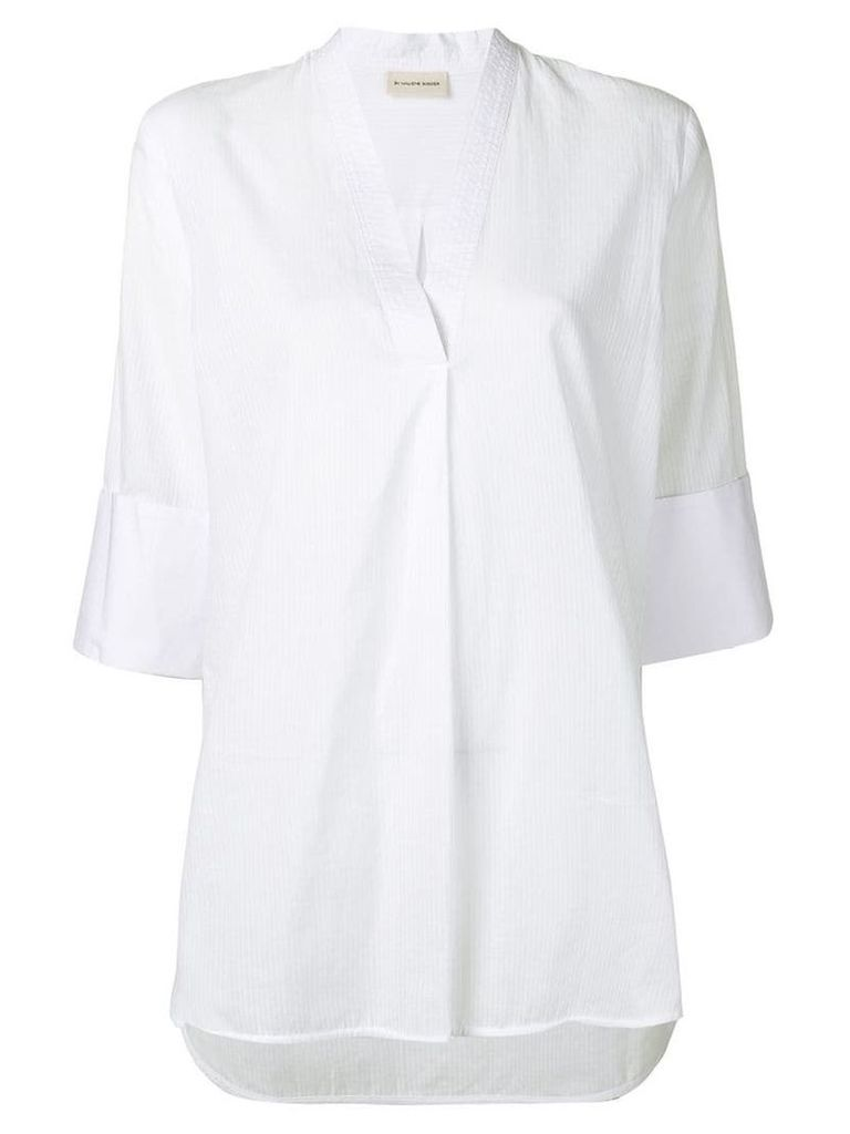 By Malene Birger straight cut top - White