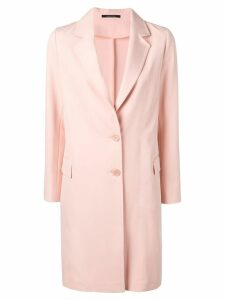 Tagliatore loose fitting blazer coat - Pink