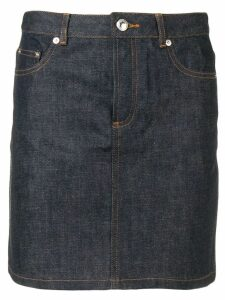A.P.C. high waisted skirt - Blue