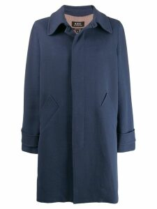 A.P.C. Macdinard coat - Blue