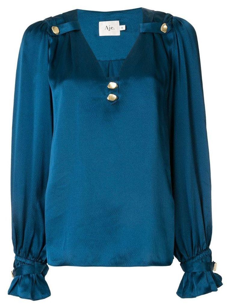 Aje Eden blouse - Blue