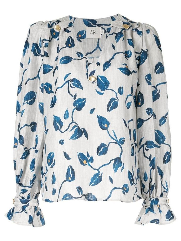 Aje Eden blouse - Grey