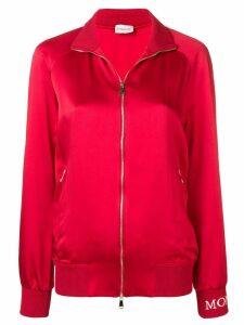 Moncler zip up jacket - Red