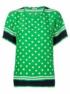 P.A.R.O.S.H. polka dot print blouse - Green