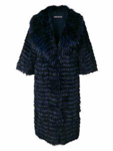 Simonetta Ravizza Chiara coat - Blue