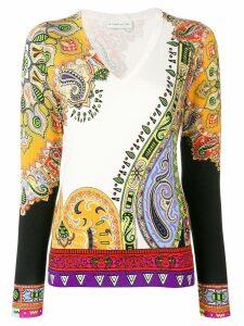 Etro paisley-print jumper - Multicolour