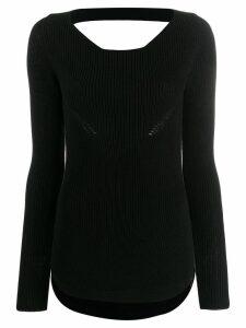 Gentry Portofino knit sweater - Black