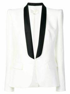 Zuhair Murad structured smoking blazer - White