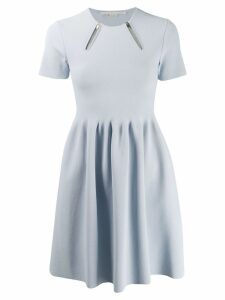 Stella McCartney zip detail dress - Blue