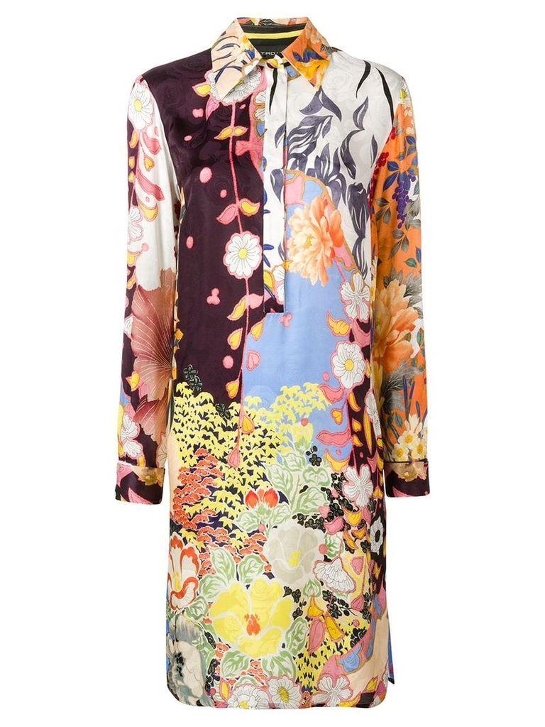 Etro printed shirt dress - Multicolour