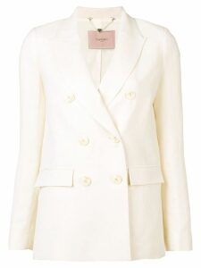 Twin-Set classic double-breasted blazer - Neutrals