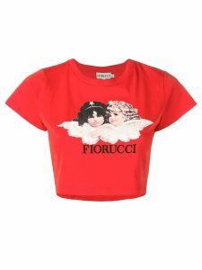 Fiorucci Vintage Angels T-shirt - Red