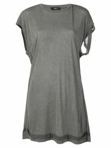 Diesel open back jersey top - Grey