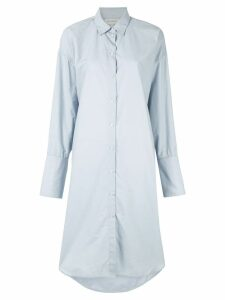 Lee Mathews Carter Shirt dress - Blue