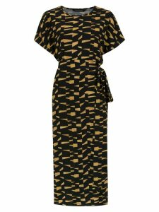 Andrea Marques printed dress - Black