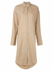 Lee Mathews Carter Shirt dress - Brown