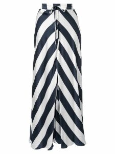 Lee Mathews Ingrid silk skirt - White