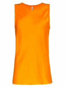 Poiret sleeveless vest top - Orange