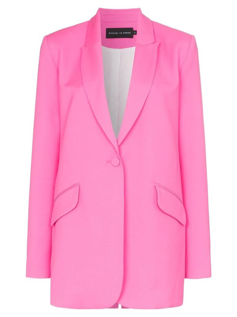 Michael Lo Sordo button-down blazer - Pink