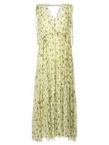 Lee Mathews Clementine tiered dress - Yellow