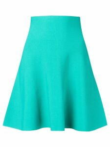 Roberto Collina high waisted flared skirt - Blue