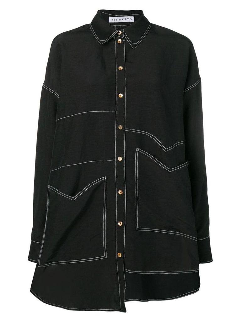 Rejina Pyo oversized shirt - Black