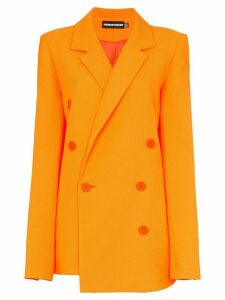 HOUSE OF HOLLAND double-breasted blazer - Orange