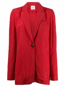 Alysi longline blazer - Red