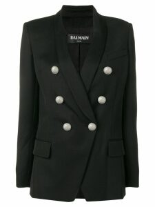 Balmain double-breasted jacket - Black
