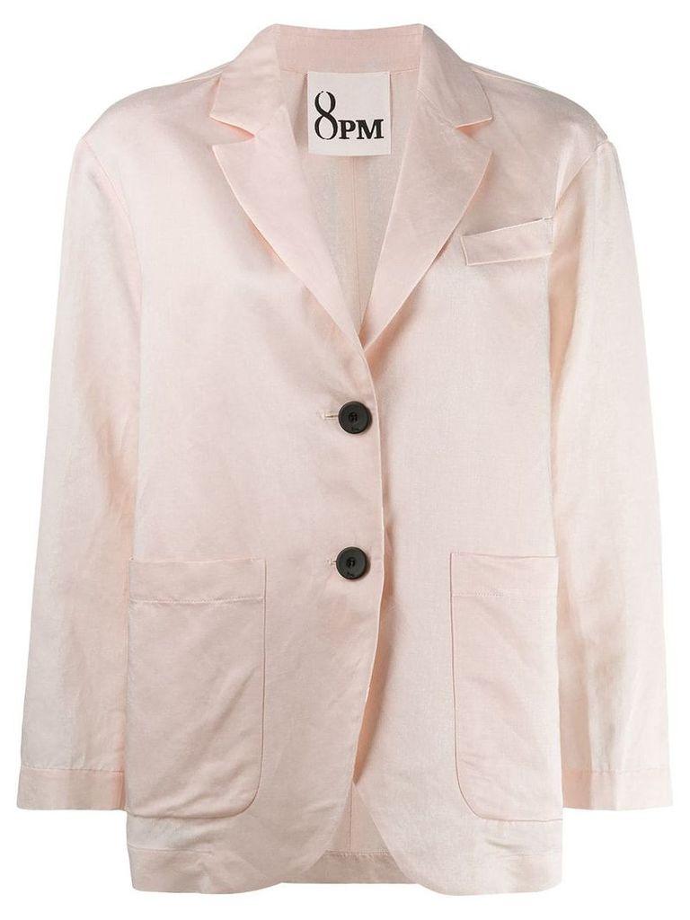 8pm basic blazer - Pink