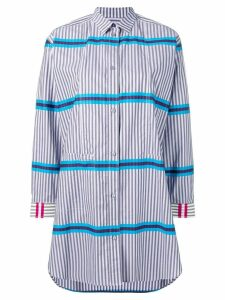 PS Paul Smith striped shirt dress - Purple