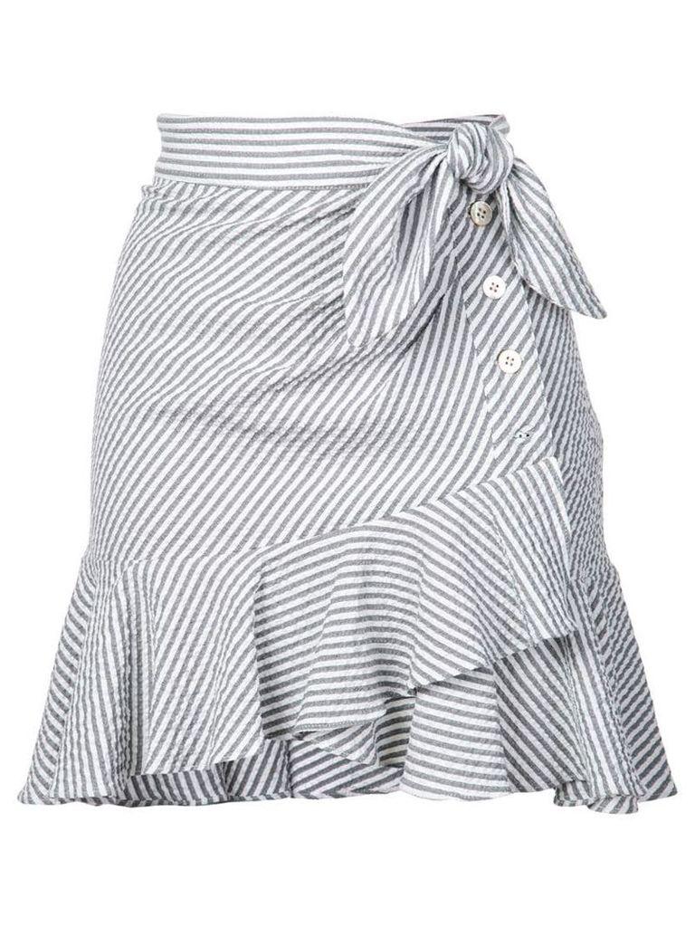 Veronica Beard knotted skirt - Grey
